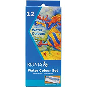 Reeves 10ml Watercolor Paint, Assorted Color