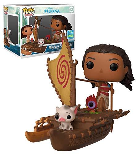Funko Pop Moana & PUA en el Barco 62 Vaiana Figure 9 cm Disney Limited Edition 1
