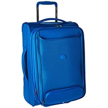 Delsey Luggage Chatillon 21 Inch Carry-On Expandable 2 Wheel Trolley, Blue