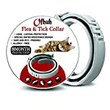 OFHUH Flea Collar for Cats - One Size Fits All - Flea