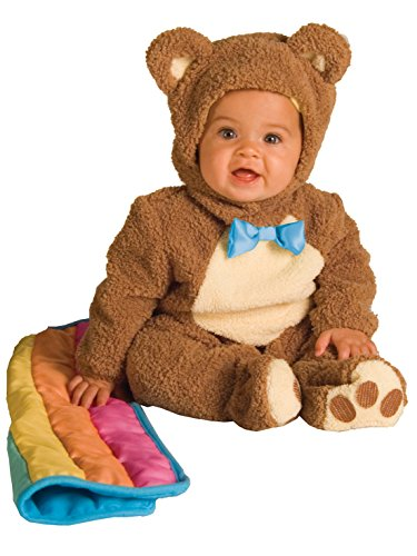 Teddy Bear Costume Baby (Oatmeal Bear Baby Infant Costume - Baby 18-24)