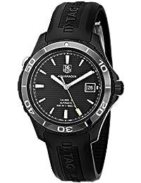 Men's WAK2180.FT6027 Aquaracer Analog Display Swiss Automatic Black Watch