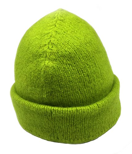 Dachstein Woolwear 100% Austrian Boiled Wool Thick Alpine Cap in Colors (One Size, (100% Wool Hat)