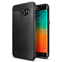 Galaxy S6 Edge Plus Case, Spigen Neo Hybrid Carbon Galaxy S6 Edge Plus Case with Carbon Fiber Design and Reinforced Hard Bumper Frame for Galaxy S6 Edge Plus 2015 - Gunmetal
