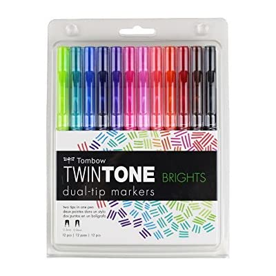 tombow-61500-twintone-marker-set