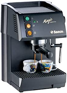 Saeco Magic Cappuccino – Cafetera espresso Negro: Amazon.es: Hogar