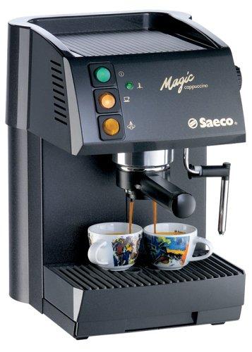 Saeco Magic Cappuccino - Cafetera espresso Negro: Amazon.es ...