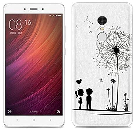 PREVOA Xiaomi Redmi Note 4 Funda - Colorful Silicona Funda Case Protictive para Xiaomi Redmi Note 4 Pro Prime 5,5 Pulgadas Sartphone - (41)