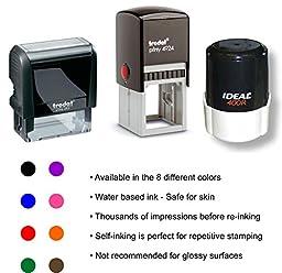 Custom Address Stamp - Self Inking - Return Address Stamp - Black Ink