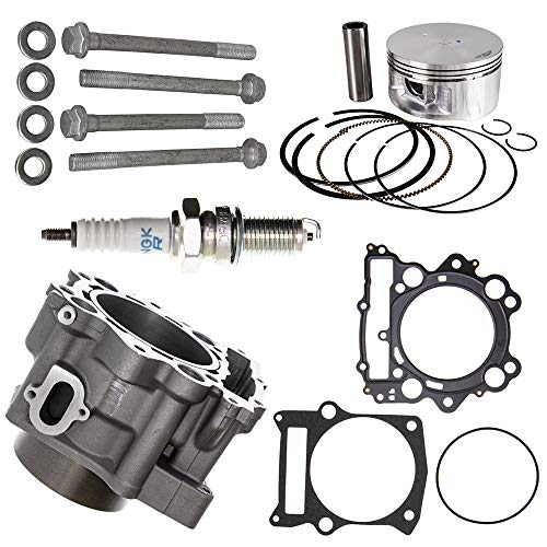 102mm 686cc Big Bore Piston Cylinder Kit For 2001-2008 Yamaha Grizzly Raptor Rhino 660 660R Replaces 3YF-11181-00-00