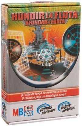 M.B. Juegos Viaje Hundir la Flota Viaje: Amazon.es: Juguetes y juegos