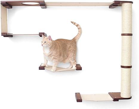 CatastrophiCreations - Estantería para Gatos con diseño de ...