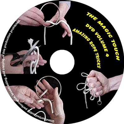 Magic Rope Tricks DVD - an Amazing Magic Collection of Classic Rope Tricks and Stunning Magic Tricks with Rings & Strings, All Fully Demonstrated and Explained in Easy to Follow, Step-by-Step Video: Toys & Games