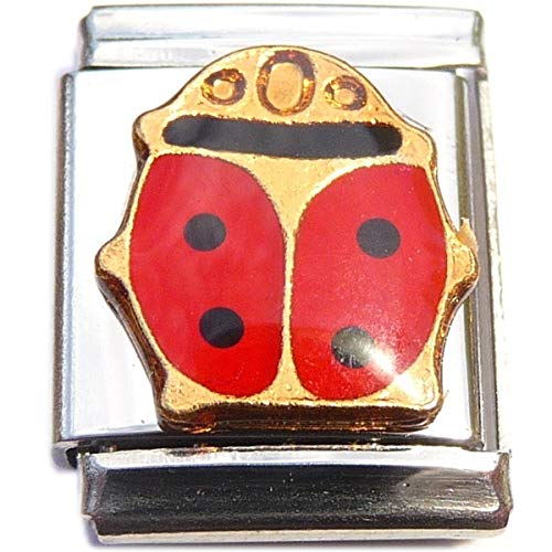 Ladybug 13mm Italian Charm (not compatible with smaller 9mm charms)