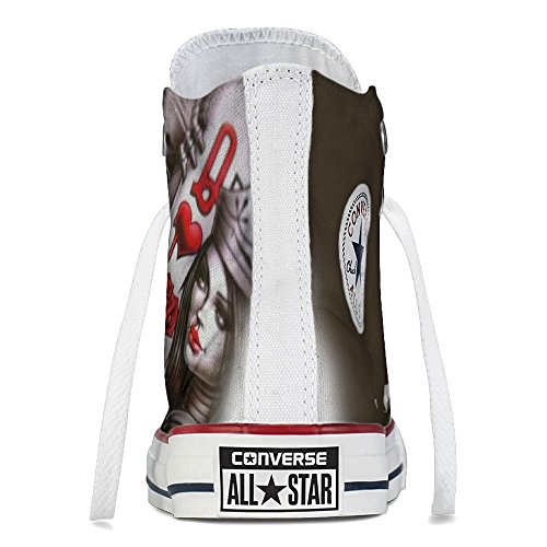 Sneaker Scarpe Converse Personalizzate Queen Card by YourStyle