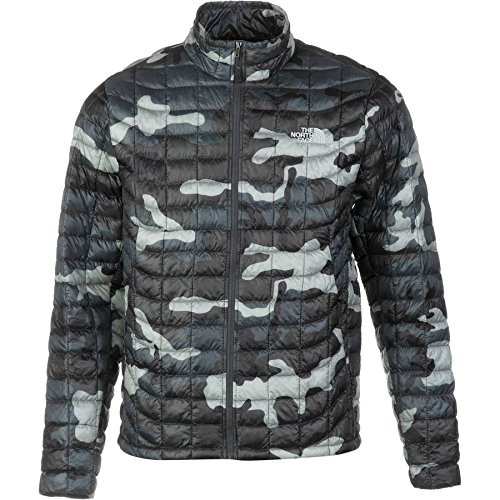 885929910070 - The North Face Thermoball Full Zip Jacket - Conquer Blue/Camo Print, Mens Medium carousel main 0