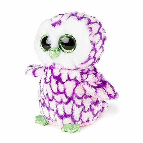 Ty Beanie Boos Pipper - Barn Owl (Claire's Exclusive) (Beanie Owl Purple Boo)