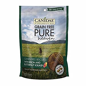 Canidae 2325 Grain Free Pure Heaven Dog Biscuits with Bison & Butternut Squash, 11 Oz. Click on image for further info.