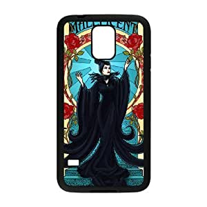 Samsung Galaxy S5 Cell Phone Case for Classic Theme Disney Maleficent Cartoon pattern design GDSNMLT16491