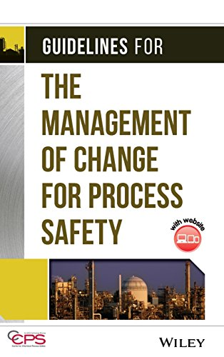 - Guidelines for the Management of Change for Process Safety