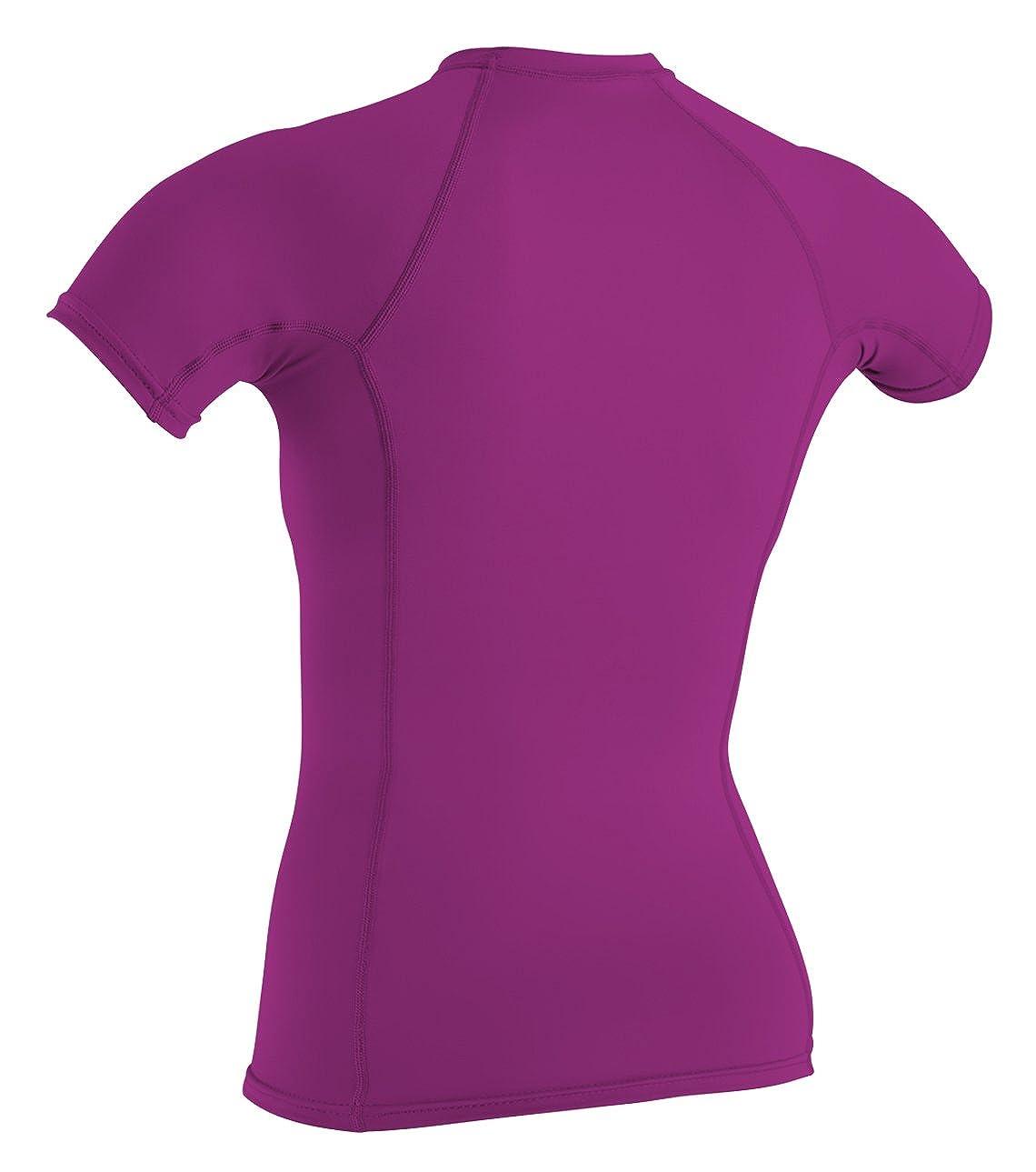 Manga Corta ONEILL WETSUITS ONeill Camiseta de Neopreno para Mujer con protecci/ón UV Cuello Redondo