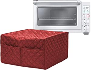 Convection Toaster Oven Cover - Smart Microwave Oven Protector Waterproof Dustproof & Stain Resistant, Outdoor Kitchen Accessories(Red)