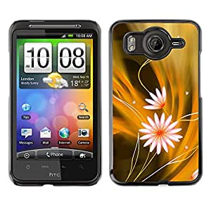 LECELL--Funda protectora / Cubierta / Piel For HTC G10 -- Modelo de flores --