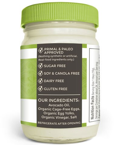 Primal Kitchen Avocado Oil Mayo & 8 oz Ancient Organics Grass-fed Ghee by Ancient Organics