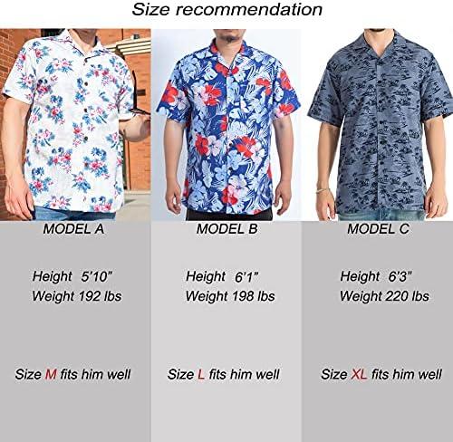 HAWAIIAN SHIRTS FOR MEN REGULAR FIT SHORT SLEEVE MENS HAWAIIAN SHIRTS WITH LARGE VARIETY OF COLORS AND DESIGNS AVAILABLE