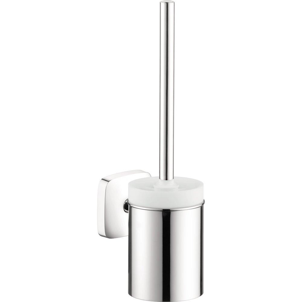 Hansgrohe 41505000 Puravida Toilet Brush with Holder, Chrome