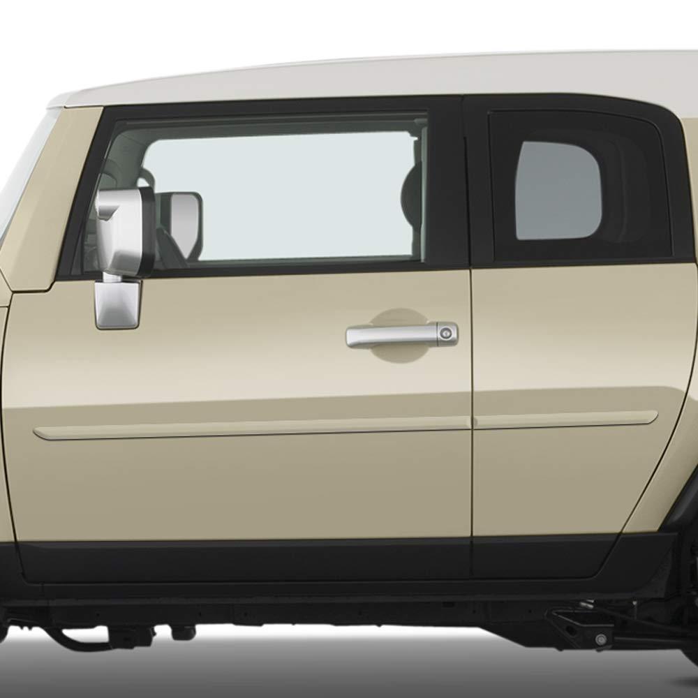 Blue Dawn Enterprises FE-FJ Finished End Body Side Molding Compatible with Toyota FJ Cruiser 8T6