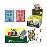 Modiano: Poker N° 98 Plastificate Two Deck of 54 cards Display Box of 7 [ Italian Import ]