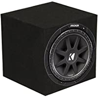 Kicker C104 10 300W COMP 4-Ohm Subwoofer Sub Woofer C10 10C104 + Box/Enclosure