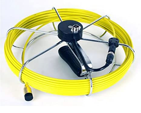 51CVfWhBwuL._SX466_ 130 ft sewer drain pipe snake inspection camera and dvr fiber  at bayanpartner.co