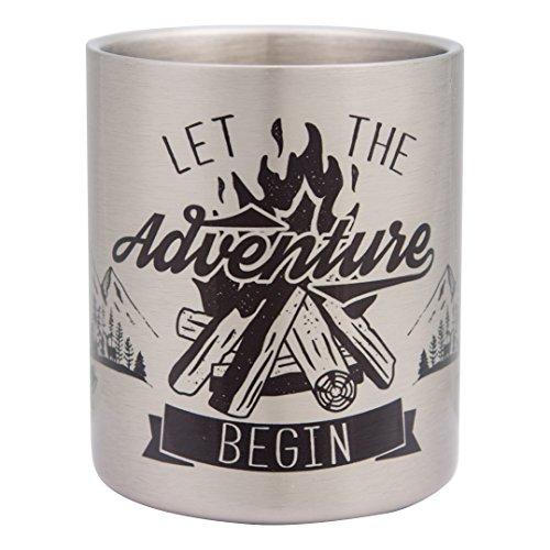 Let en qualit de begin acier Tasse haute the Adventure inoxydable fgIRqgrx