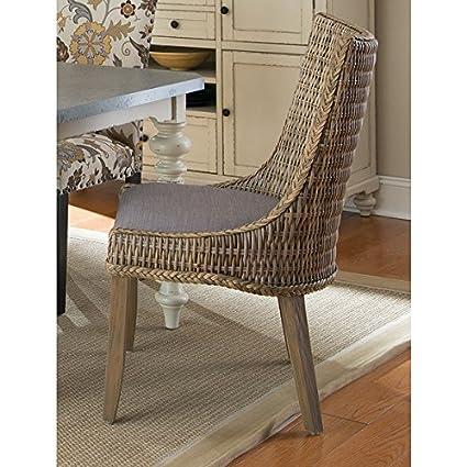 Swell Amazon Com Coaster Company Grey Mahogany Rattan Greco Camellatalisay Diy Chair Ideas Camellatalisaycom