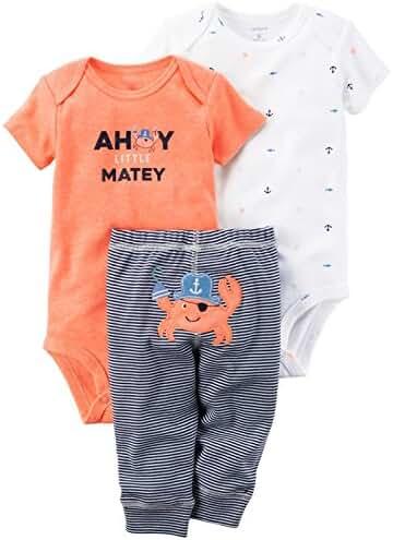 Carter's Baby Boy's 3 Piece Take Me Away Set