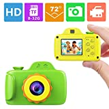 ZTour Smallest Kid Digital Camera, Mini Creative Cute HD Digital Children Camcorders,Sport Action Toy Camera Video Recorder with 1.5 Inch Screen,Soft Silicone Protective Shell for Boys Girls Gifts