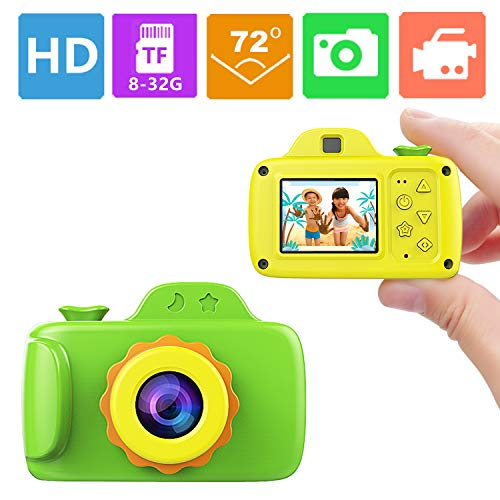 ZTour Smallest Kid Digital Camera, Mini Creative Cute HD Digital Children Camcorders,Sport Action Toy Camera Video Recorder with 1.5 Inch Screen,Soft Silicone Protective Shell for Boys Girls Gifts by ZTour (Image #7)