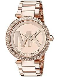 Michael Kors Parker MK5865 Women's Wrist Watches, Gold Dial