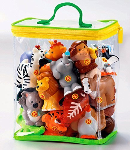 Zoo Learning (Little People Learning Zoo Animals A to Z Figure Bag)