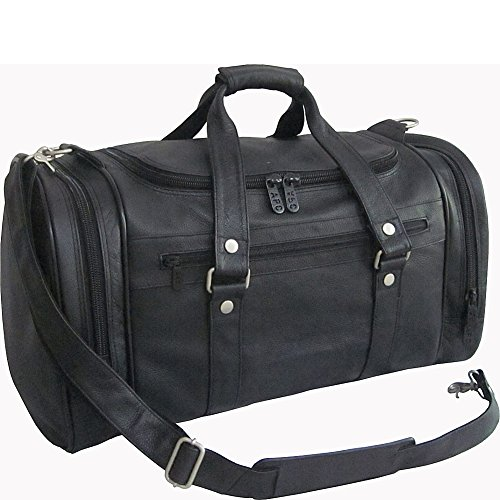 amerileather-22-jumbo-duffel-black