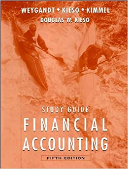 Book Study Guide to accompany Financial Accounting (text only) 5th (Fifth) edition by P. D. Kimmel, D. E. Kieso J. J. Weygandt