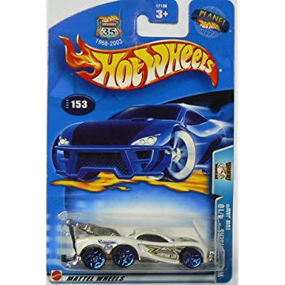 Hot Wheels 2003 Work Crewsers Tow Jam 4/10 WHITE #153 1:64 Scale: Toys & Games