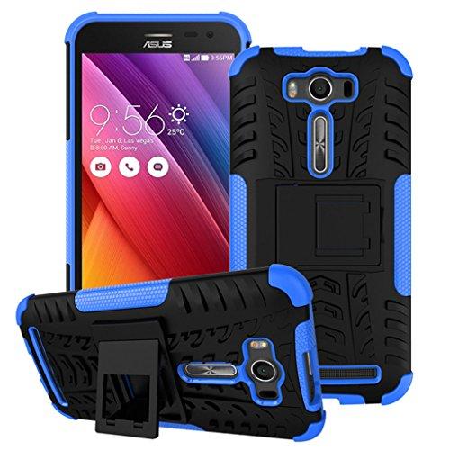 Slim Armor Case for Asus Zenfone 2 Laser 5.0 ZE500KL (Blue) - 5