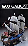 PLASTIC MODEL SHIP BOAT VESSEL SAILBOAT GALION 1/200 HELLER 80835