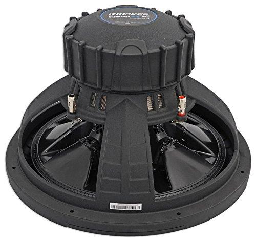 """Kicker 44CVX152 15"""" CVX Comp VX 1000w RMS Car Subwoofer+Vented Sub Box Enclosure"""