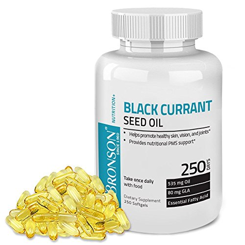 Bronson Black Currant Seed Softgels