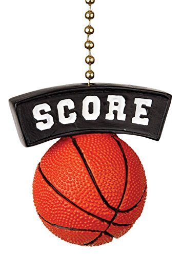 Clementine Design Basketball Score Fan Pull ()