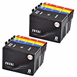 WIND ? 8 Pack 252 T252 XL High Capacity ( 2 Black, 2 Cyan, 2 Magenta, 2 Yellow) Work For Epson WorkForce WF-3620 WF-3640 WF-7110 WF-7610 WF-7620 WorkForce Pro WF-5190 WF-5620 WF-5690 Printer